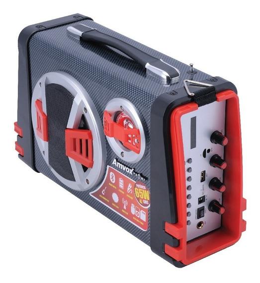 Caixa Som Amplificada Bluetooth Aca 110 Bateria Recarregável