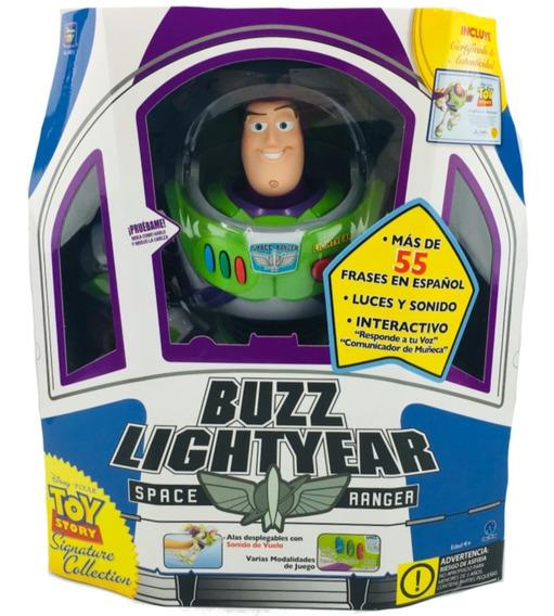 Toy Story Buzz Lightyear Space Ranger Luz Sonido Certificado