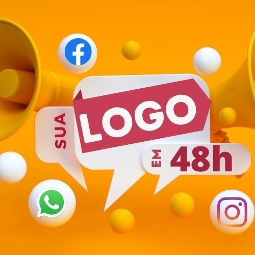 48h Criação De Logomarca Logotipo Fazer Logomarca