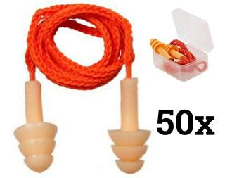 50 Un Protetor Auricular Silicone Tipo Plug Melhor Preço Epi
