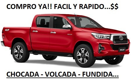 Toyota Hilux Chocada/volaca/fundida Compruu