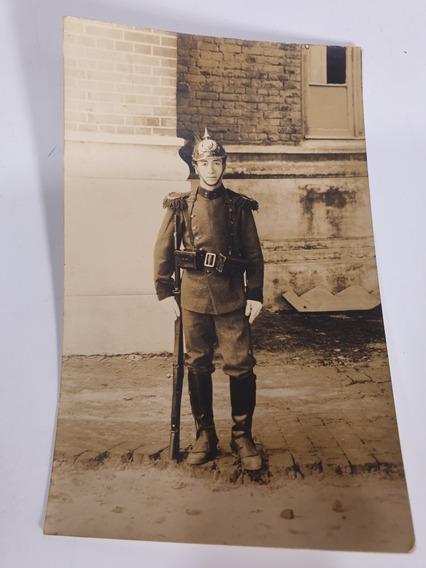 Antigua Foto Postal De Policia De 1915