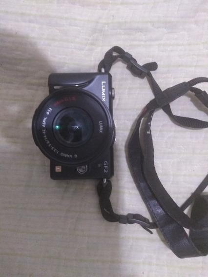Camera Lumix Gf2 (obs: A Tela Está Com Uma Trinca)