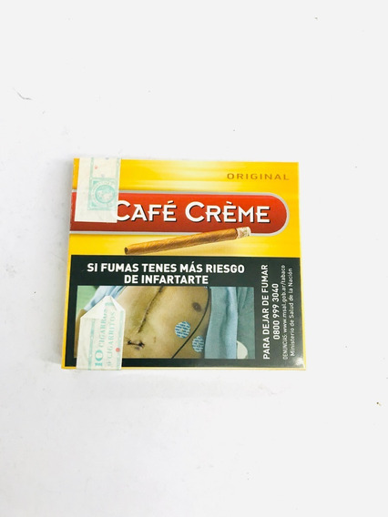 5 Cafe Creme Cigarros 10u - Candyclub Local Once