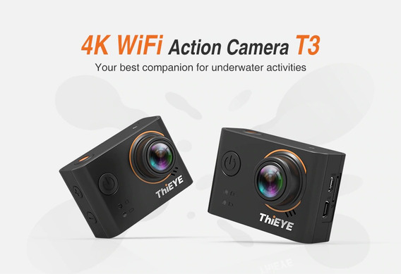 Camera De Ação Thieye T3 4k Wifi