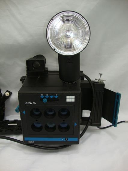 Antiga Camera Polaroid Lupa Pro Anos 80 + Flash *decoração*