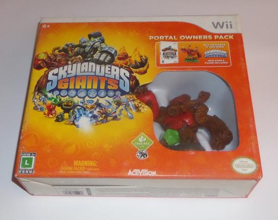 Skylanders Giants Portal Owners Pack Original Lacrado Wii