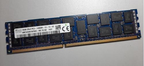 Memoria 16gb 2rx4 Pc3 14900r-13 - Ecc Registrada P/ Servidor