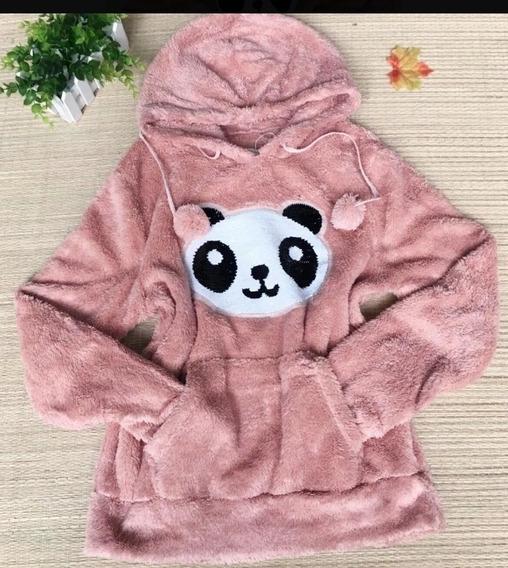 Blusa De Frio Do Panda Adulto