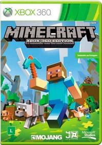 Jogo Minecraft Xbox 360 Ntsc Midia Fisica Original
