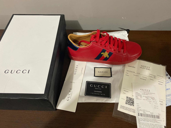 Gucci Ace Red