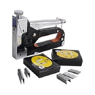 Kit Grampeador Pinador De Tapeceiro 4-14mm 3em1 Grampos Pino