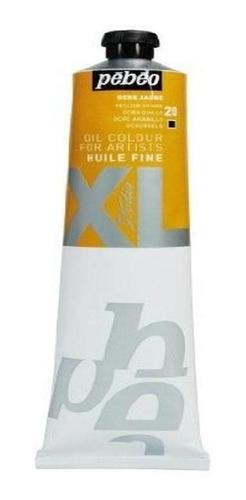 Imagen 1 de 6 de Pebeo - Aceite Fino Xl 200 Ml - Pintura Al Oleo Amarilla Ocr