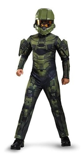 Disfraz Niño Halo Master Chief Original Envio Gratis