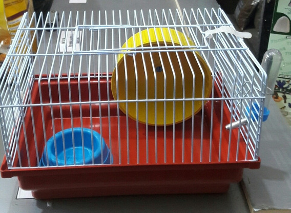 Gaiola Hamster Pequena Completa