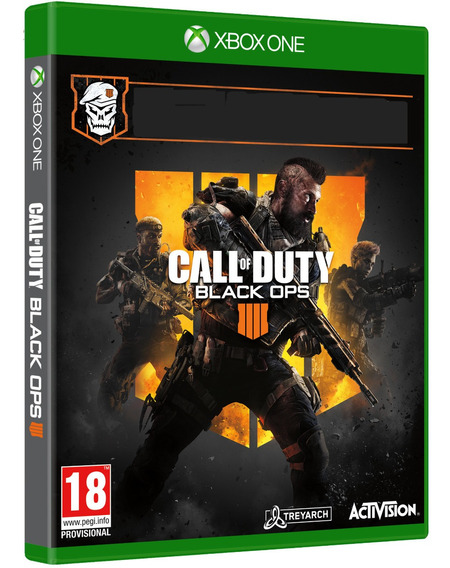 Game Call Of Duty Black Ops 4 Bo Xbox One Midia Fisica Novo