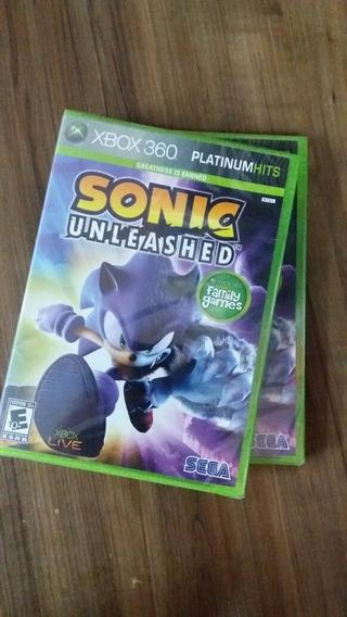 Sonic Unleashed Xbox 360 Lacrado