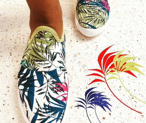 Zapatillas Mujer Arlequinas Diseños Exclusivos