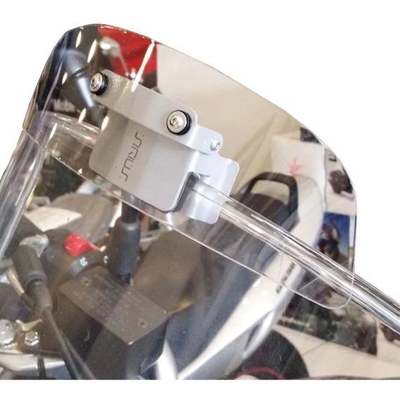Defletor Ar Vento Extensor Moto Bolha Drakar Bmw R1150gs Gs