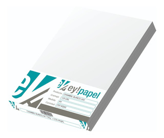 Opalina Cartulina Chambril A4 De 120 Grs Paquete X 250 Hojas