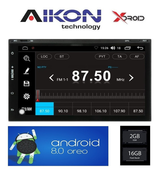 Central Multimídia 2din Universal Quad Core Android Kitkat