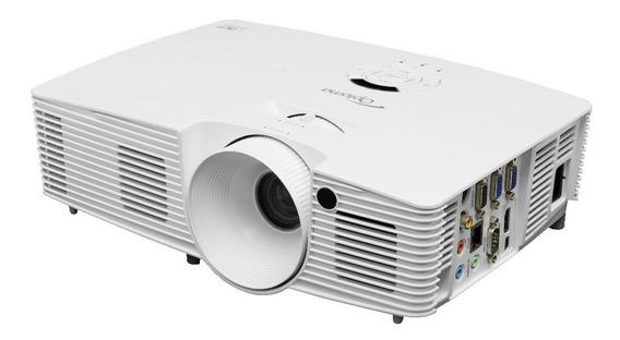 Projetor Multimídia Optoma X351 3600lm Xga 3d Dlp Branco