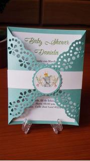 Invitacion Bautizo Baby Shower Otras Categorías En Mercado
