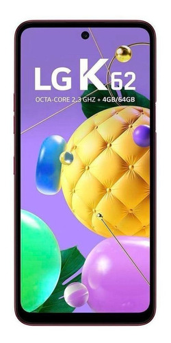 LG K62 Dual SIM 64 GB red 4 GB RAM