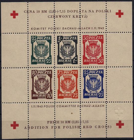 Cruz Vermelha - Campo De Dachau-allach - Bloco S14 - Nnn