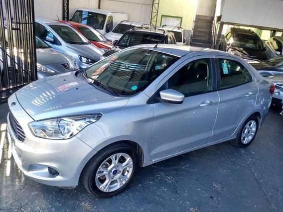 Ford Ka+ Sel 1.5 Flex Sedan 2018 Prata Na Garantia