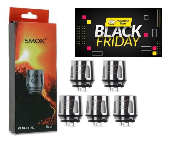 5x Coil M2 0.15ohms Smok - Menor Preço Do Ml - Black Friday