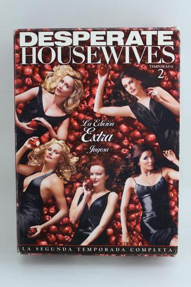 Dvd 130 Desperate Housewives Temporada 2 -- Ed Extra Jugosa