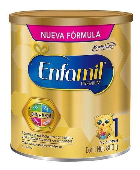 Fórmula para lactantes en polvo Mead Johnson Enfamil Premium 1 en lata de 800g