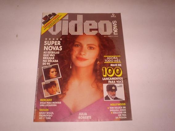 Revista Video News Ano 9 Nº 99 Julia Roberts