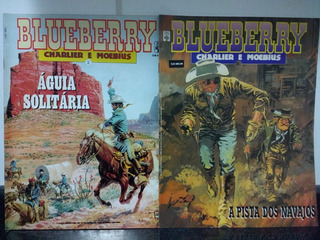 Lote 2 Hq Blueberry 2 E 4 Charlier Moebius - Abril 1990 Rjhm