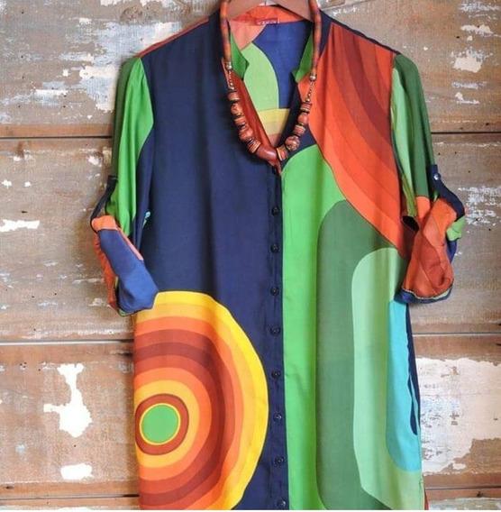Max Camisa,chemise,saída De Praia...em Viscose