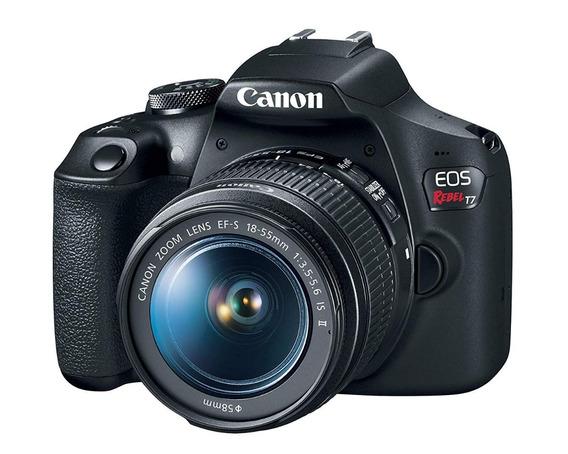 Cámara Canon T7 Kit 18-55mm + Memoria 32gb