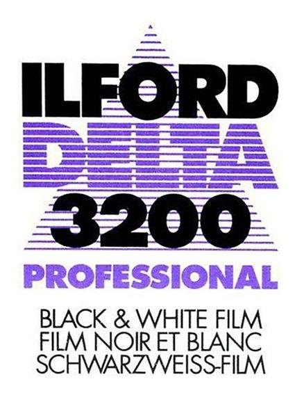 Filme Ilford Delta 3200- Formato 120, 4 Unid. - Vencido 2002