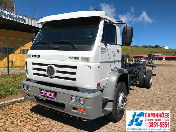 Caminhão Vw 17180 Ano 2009 Top De Linha
