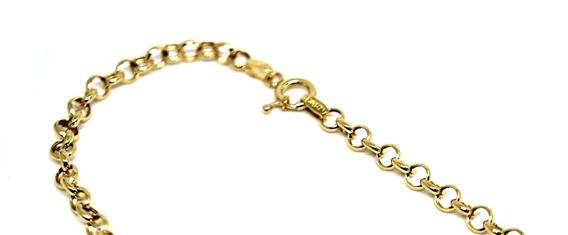 Cordão Elo Português Ouro 18k