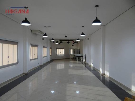 Salão Para Alugar, 220 M² Por R$ 6.000/mês - Vera Tereza - Caieiras/sp - Sl0053