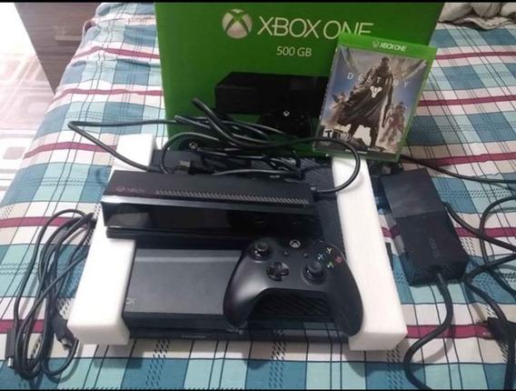 Xbox One Completo, Com Kinect, 1 Controle, Hd, 6 Jogos, Fat