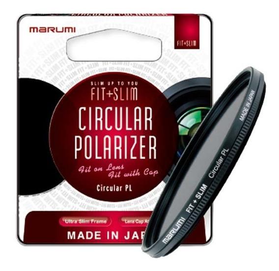 Filtro Polarizador Marumi Fit+slim 52mm