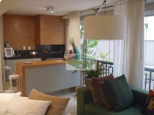 Apartamento Para Alugar, 126 M² Por R$ 7.300,00 - Granja Julieta - São Paulo/sp - Ap3730