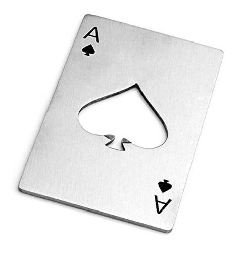 Destapador Naipe Poker