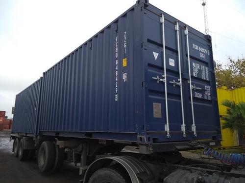 Contenedores Marítimos Containers/ 40' Hc Nacionalizado