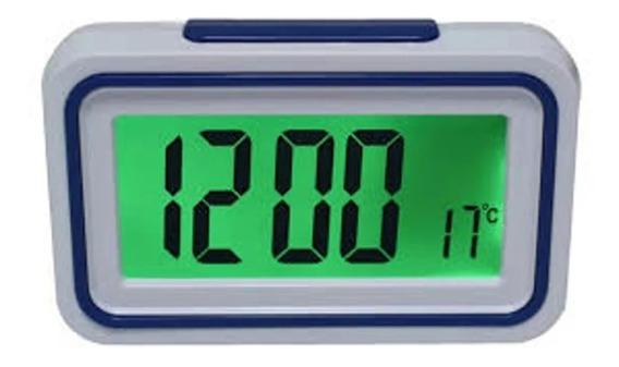 Relógio Fala Hora Deficiente Visual Azul Idosos Sta Catarina