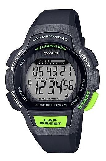 Relógio Casio Feminino Digital Lap Memory 60 Lws-1000h-1avdf