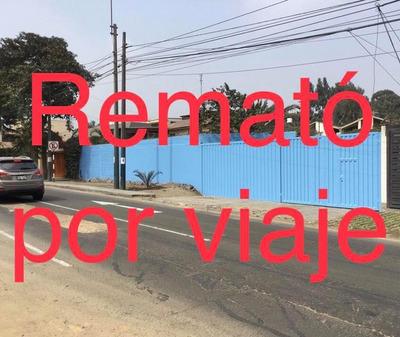 Remato Terreno En Avenida A 4 Casas Municipalidad Molina