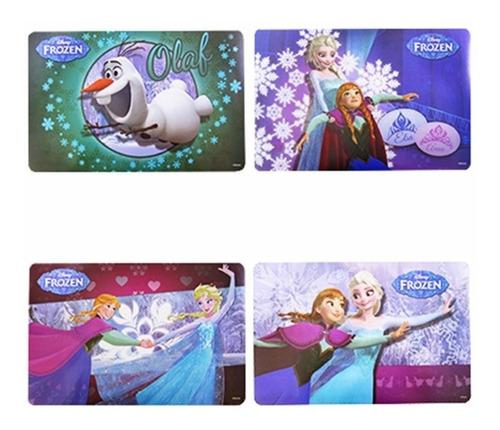 Jogo Americano Infantil Frozen 4 Pçs Disney